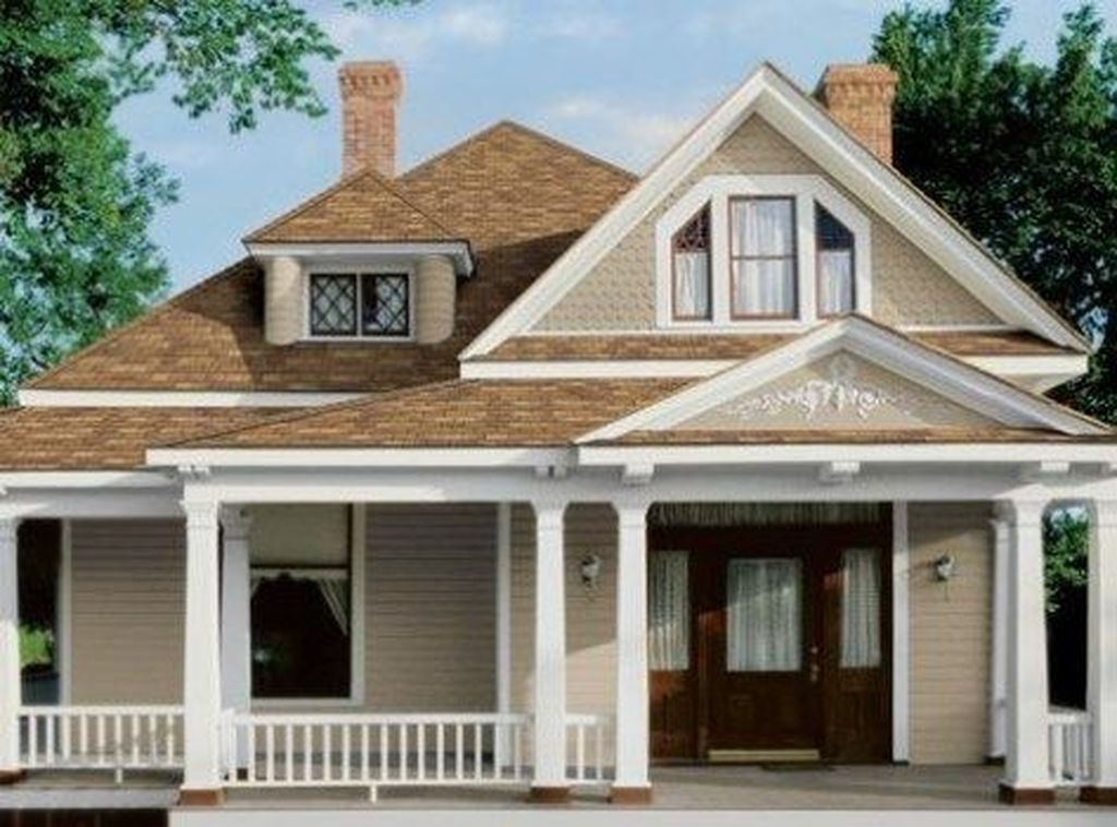 46 Exterior Paint Colors For House With Brown Roof Matchness Com