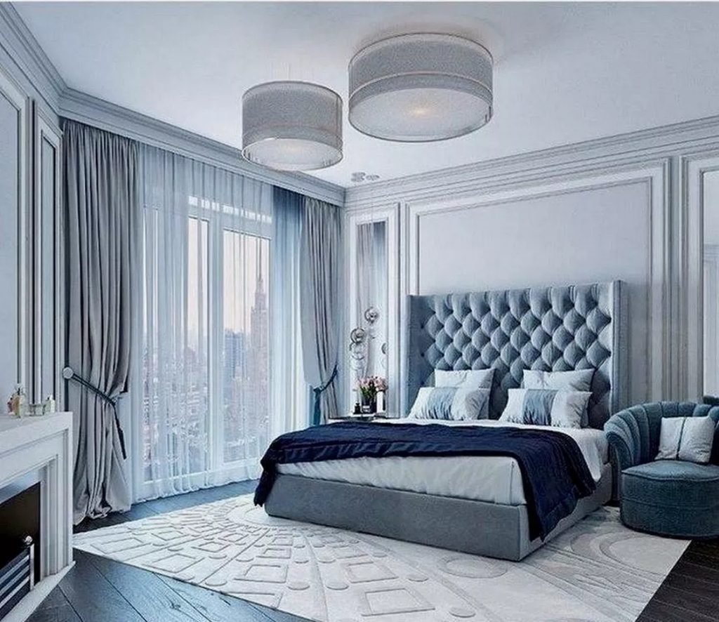 20 Top Blue Master Bedroom Design Ideas That Looks Great Coodecor
