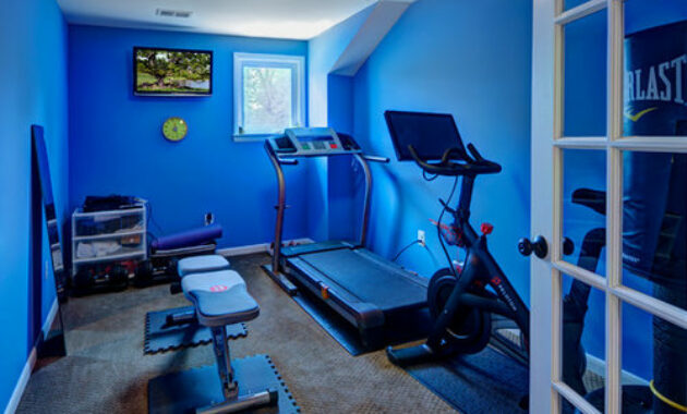 5 Colors to Consider For Your Home Gym Décor